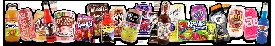 Amerikanische Lebensmittel, Getränke und Süßigkeiten in Deutschland ...