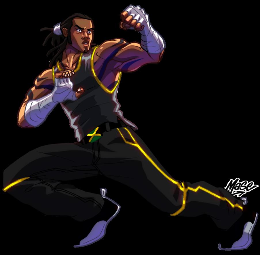 Tiger Style Promo Black Anime Characters Black Cartoon Black Artwork