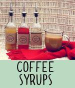 DIY Coffee Syrup
