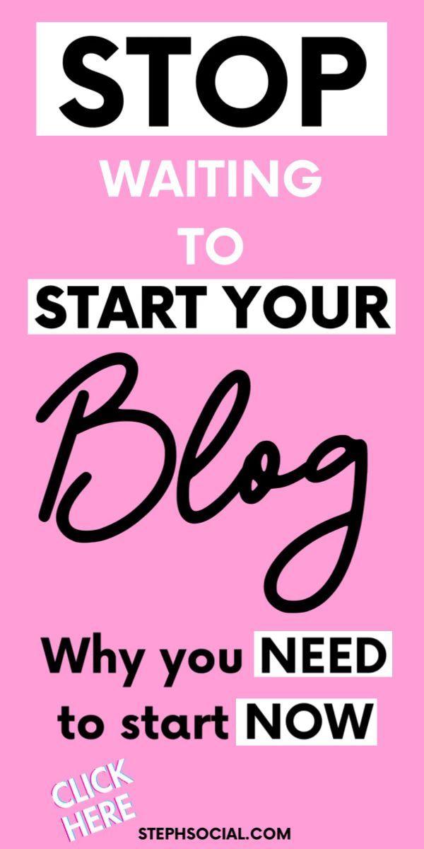 Should I Start A Blog? Why I Should Have Started S