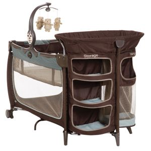The S1 Satellite Premier Play Yard Gives Your Baby A