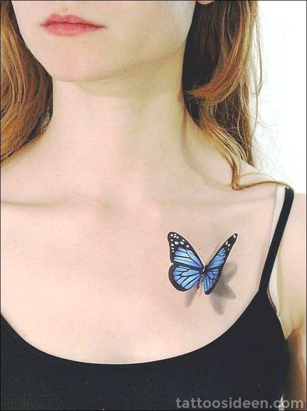 45 Live 3D Tattoo Designs und Ideen, damit Sie WOW sagen | Realistic butterfly tattoo, Butterfly tattoo, Butterfly tattoos images