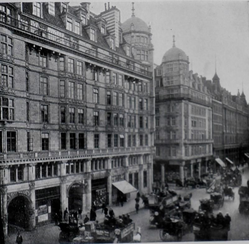 The Savoy And Cecil Hotels On Strand London