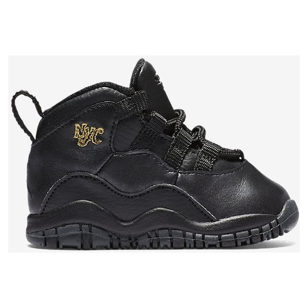 2ca587a2eabf Air Jordan Retro 10 (2c-10c) Infant Toddler Shoe. Nike.com featuring  polyvore