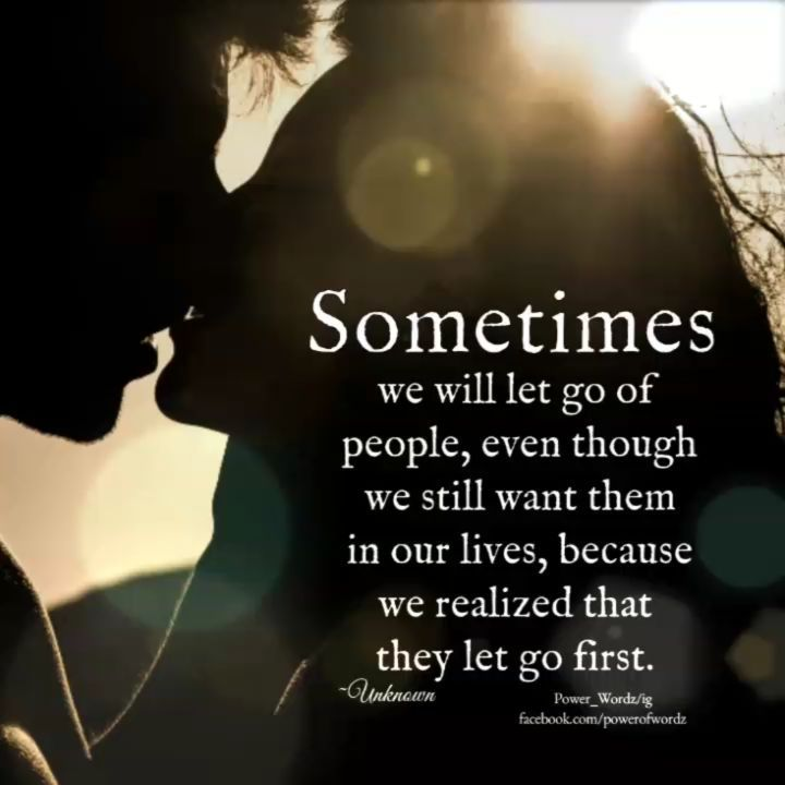 Awesome The Process Of Letting Go Of Someone You Love Is One Of Lifeu0027s Most Painful  Experiences.