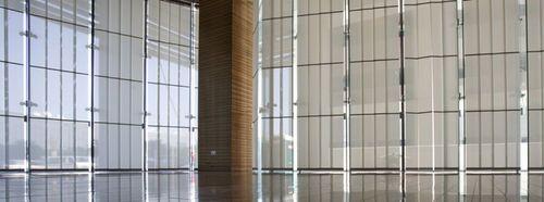 Vertical textile sliding panel blind SPECIAL Hunter Douglas