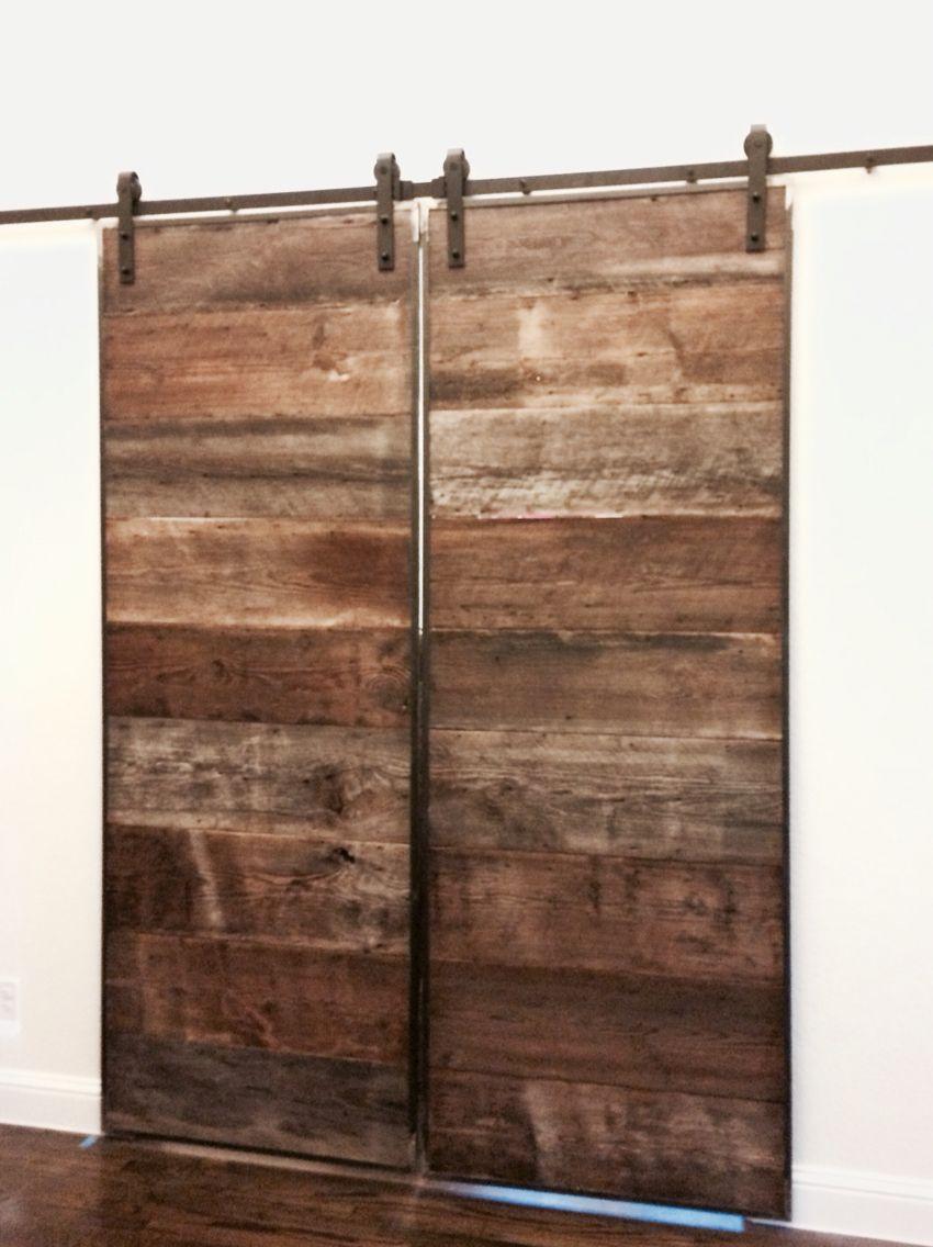 Nolan woodwork reclaimed wood barn doors lanwoodwork