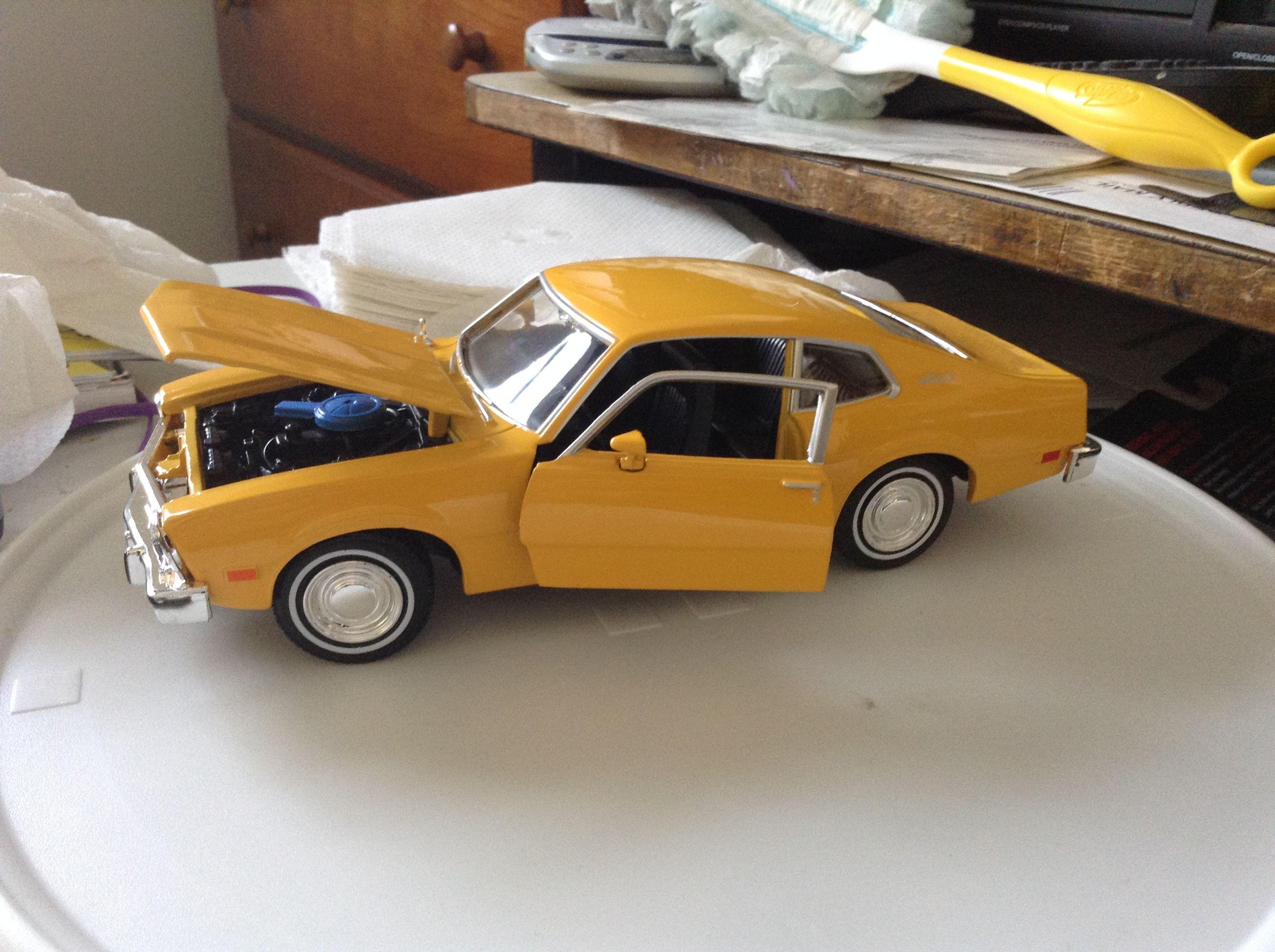 1974 Ford Maverick Ford Maverick Car Model Model Kit