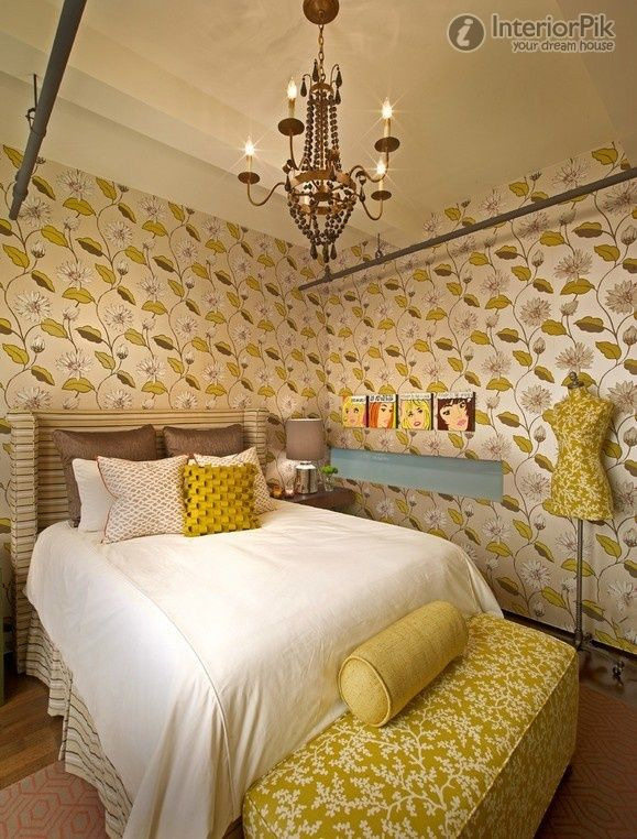 Female Figure Of The Yellow Wallpaper Girl Bedroom Decoration