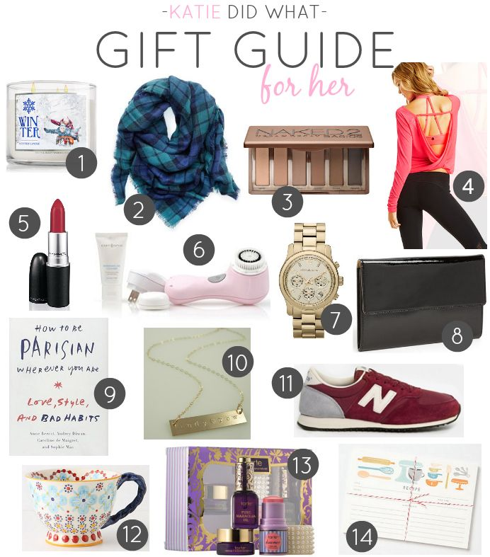 Gift Guide For Her Ideas Women Christmas