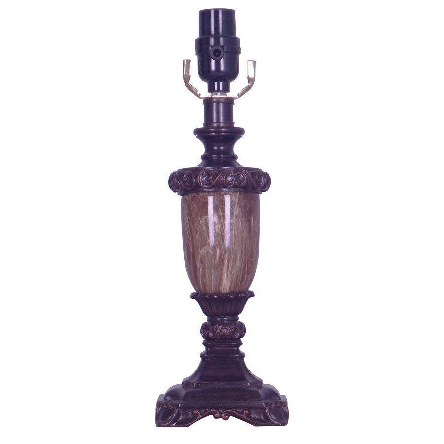 allen + roth, 13.75-in Bronze Metal Lamp Base | Metal lamp ...