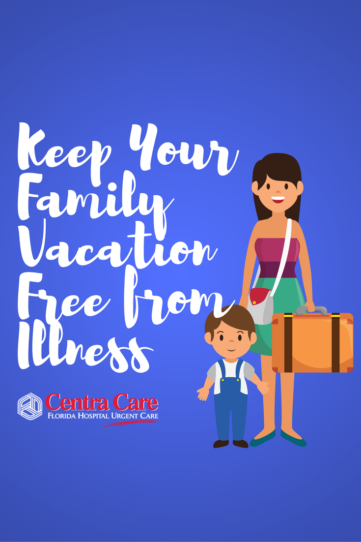 Keep your family vacation free from illness summer