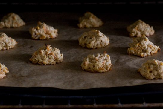 Carrot Ginger Coconut Oatmeal cookies