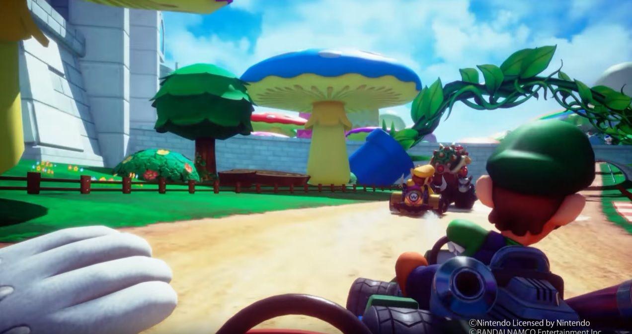 New Video Shows Gameplay From Mario Kart Arcade Gp Vr Mario Kart