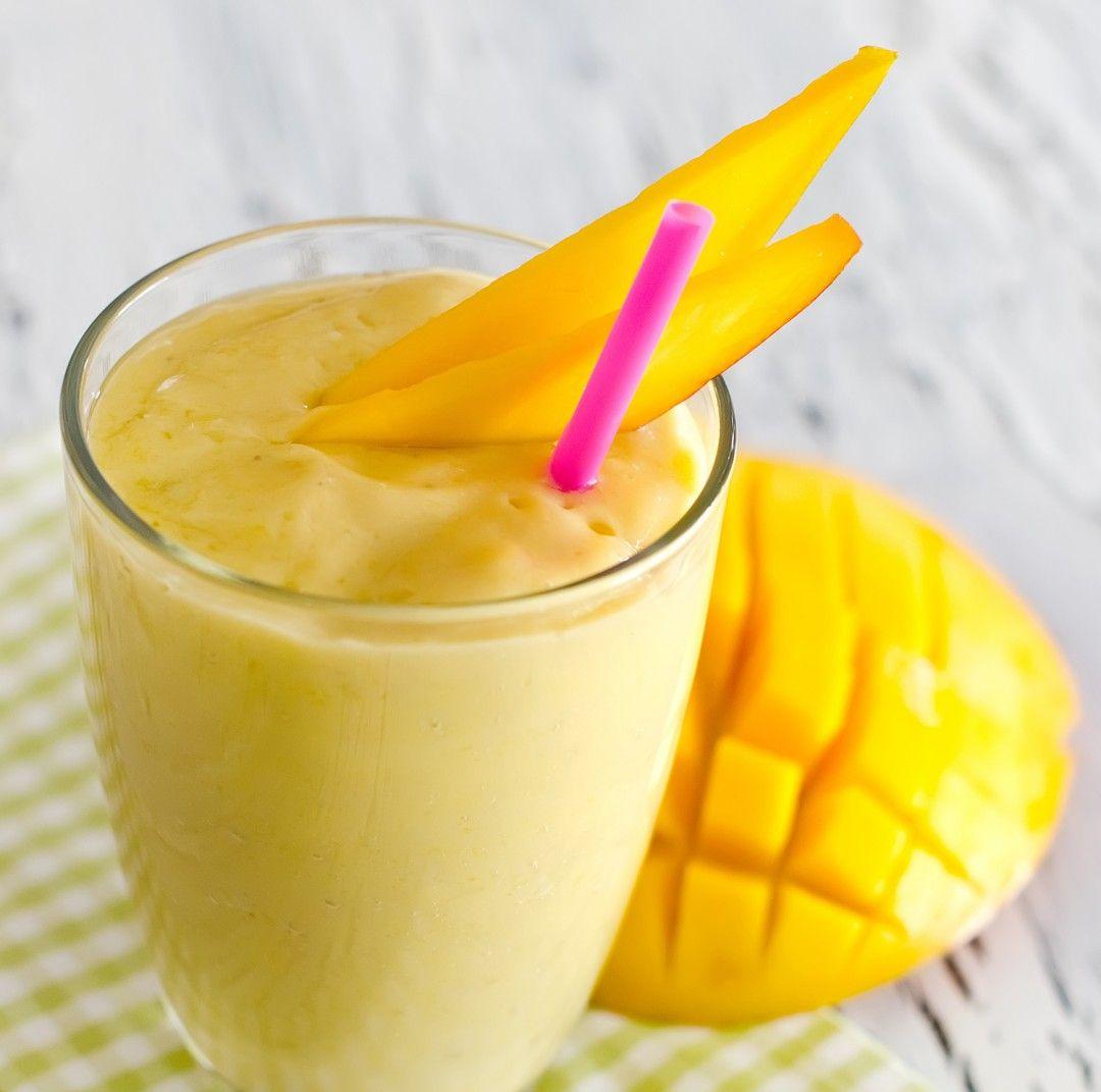 Mango Lassi with Turmeric