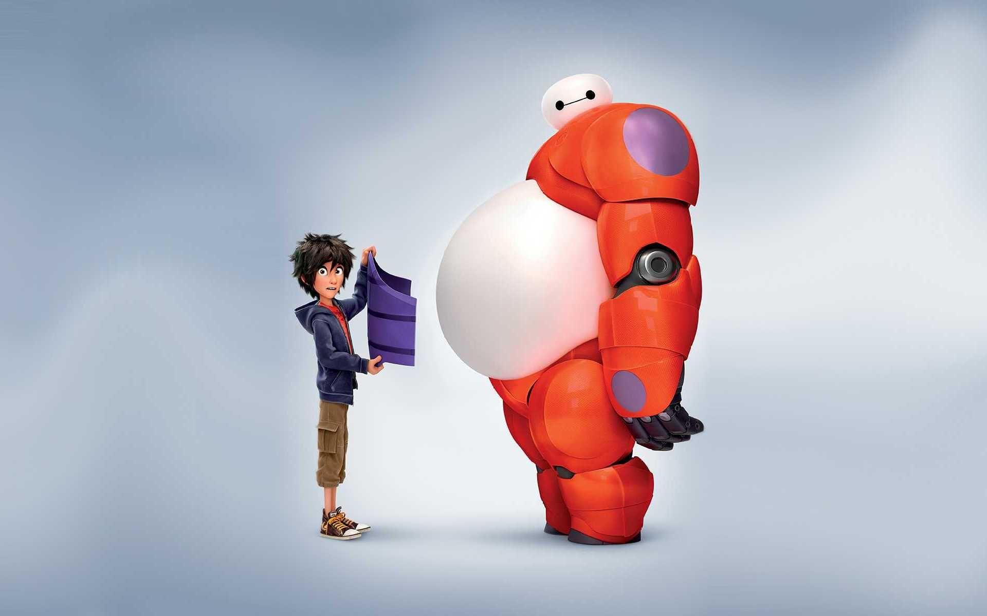 big hero 6 big robo movie hd wallpaper