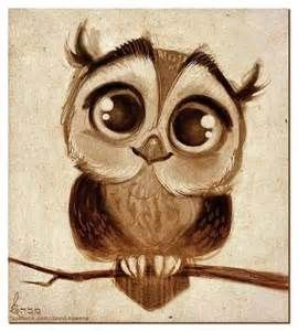 Big Eyed Owls Tattoo Yahoo Image Search Results Owls Drawing Drawings Owl Art