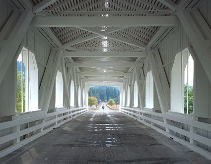 Oregon Covered Bridge, Oregon, USA
