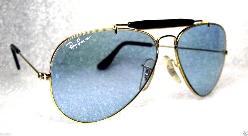 df444ab350  NOS VINTAGE RAY-BAN B L AVIATOR-GENERAL  CHROMAX ACE-30 SptSrs  NOS  SUNGLASSES  RayBanbyBauschLomb  SportSeriesAviator