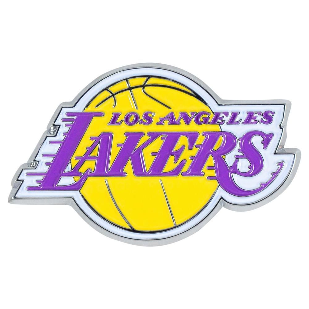 Fanmats 2 3 In X 3 7 In Nba Los Angeles Lakers Emblem 22222 The Home Depot Lakers Colors Nba Los Angeles Los Angeles Lakers