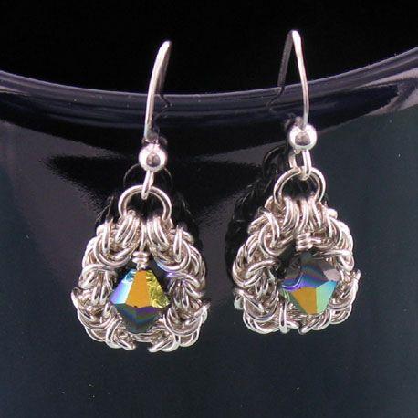 Byzantine Chainmaille Earrings | earrings | Earrings