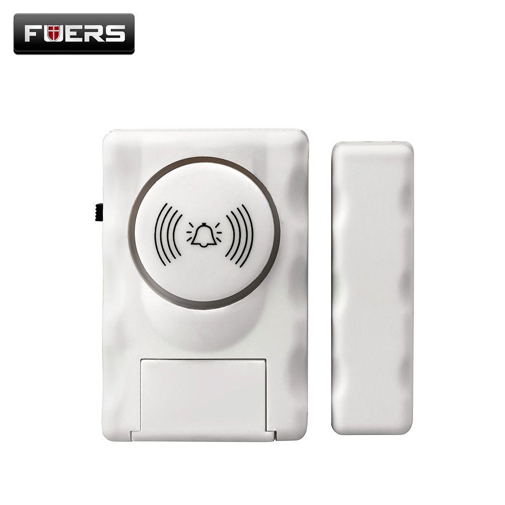 Fuers Wireless Home Security Door Window Alarm Warning System