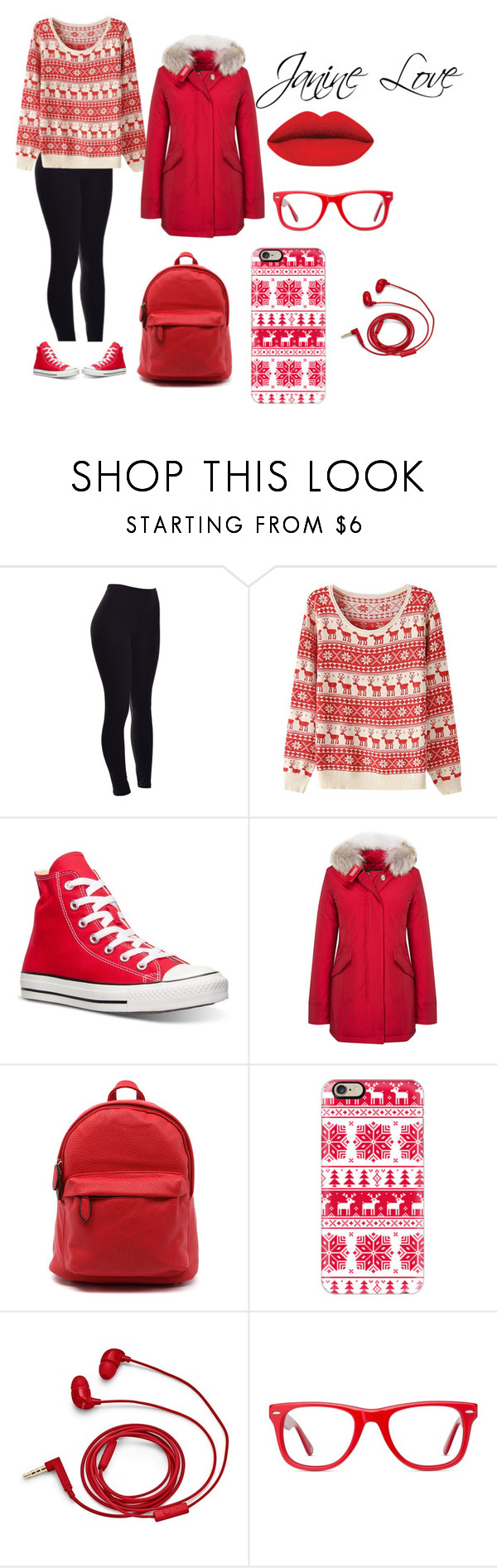 """""""Winter Fashion"""" by janinelolove on Polyvore featuring Converse, Casetify, FOSSIL and Muse"""
