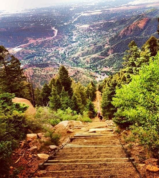 Visiting Colorado Springs: ‎Manitou Springs ‎Incline ‎Trail