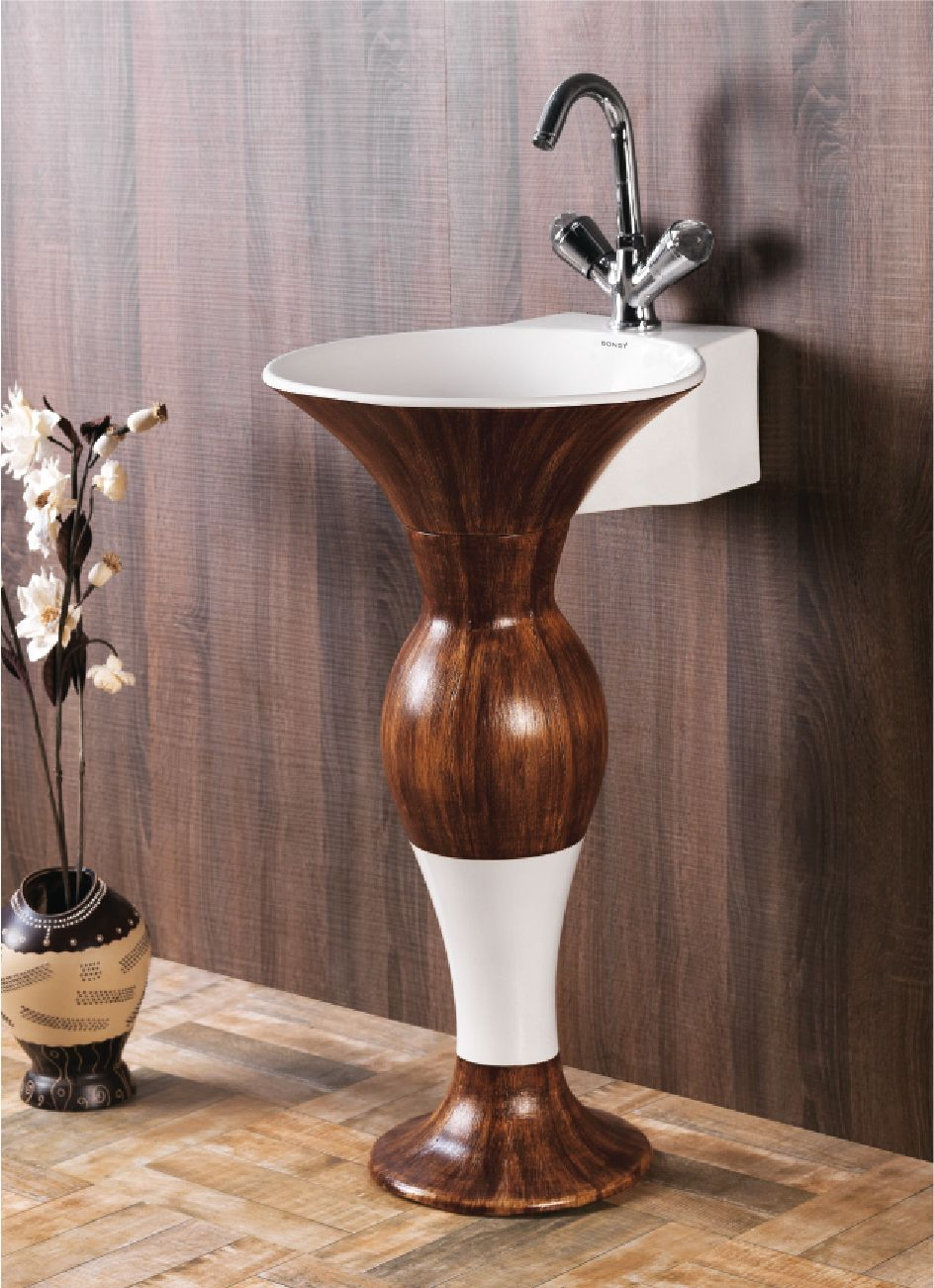 This is Dolphin Pedestal Wash Basin from Sonet India. For more ...