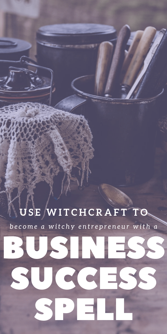 Business Spell Manifest Your Dream Business Today Success Business Spelling Wiccan Symbols