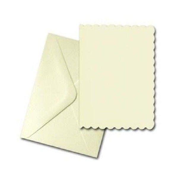 Craft uk blank greeting card envelopes scalloped edge 5 x 7 ivory craft uk blank greeting card envelopes scalloped edge 5 x 7 ivory m4hsunfo