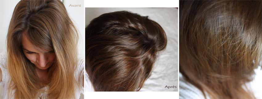 Teinture aux plantes pour cheveux