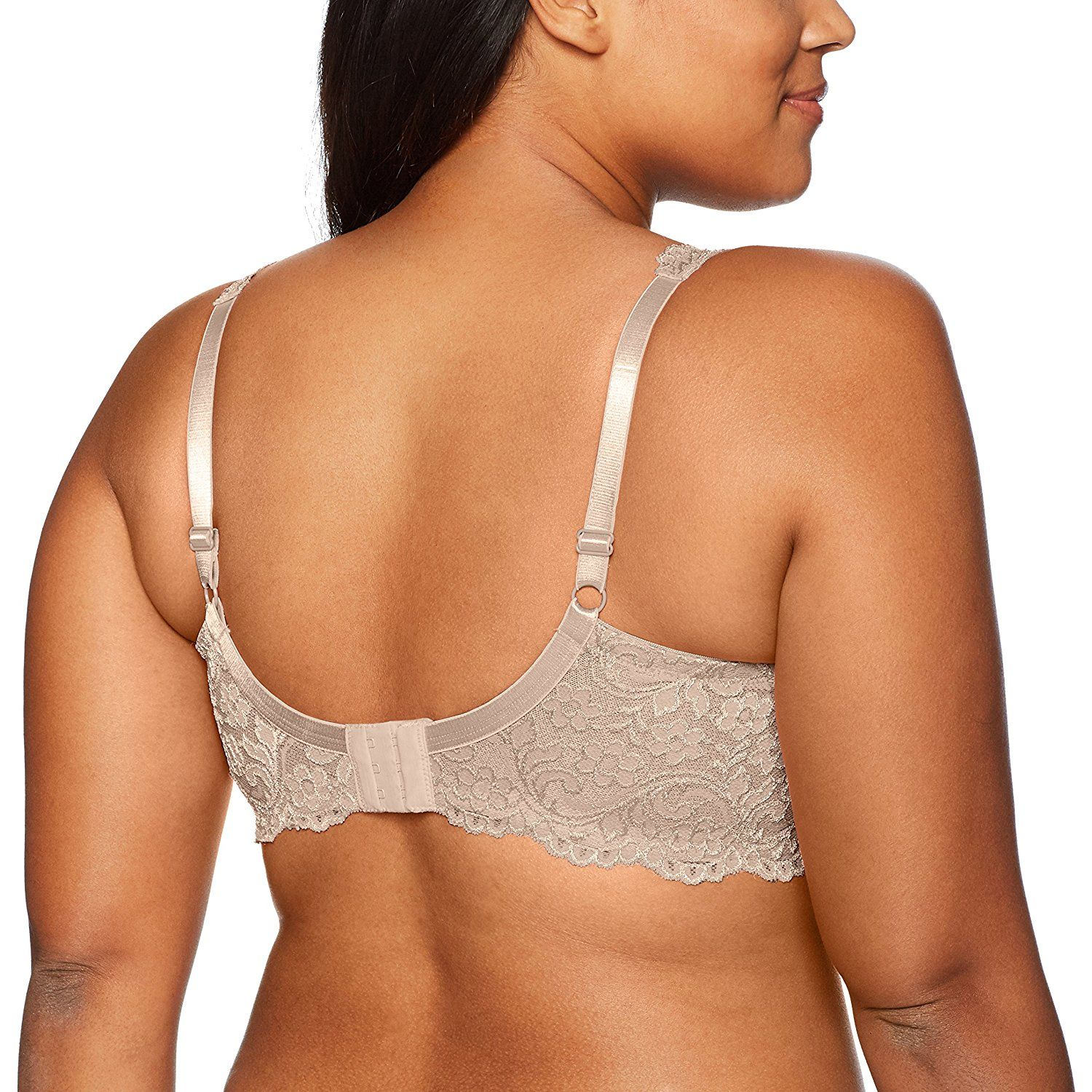 d896e9835d Smart and Sexy Women s Plus Size Curvy Signature Lace Unlined Underwire Bra  with Added Support     Click image to review more details.