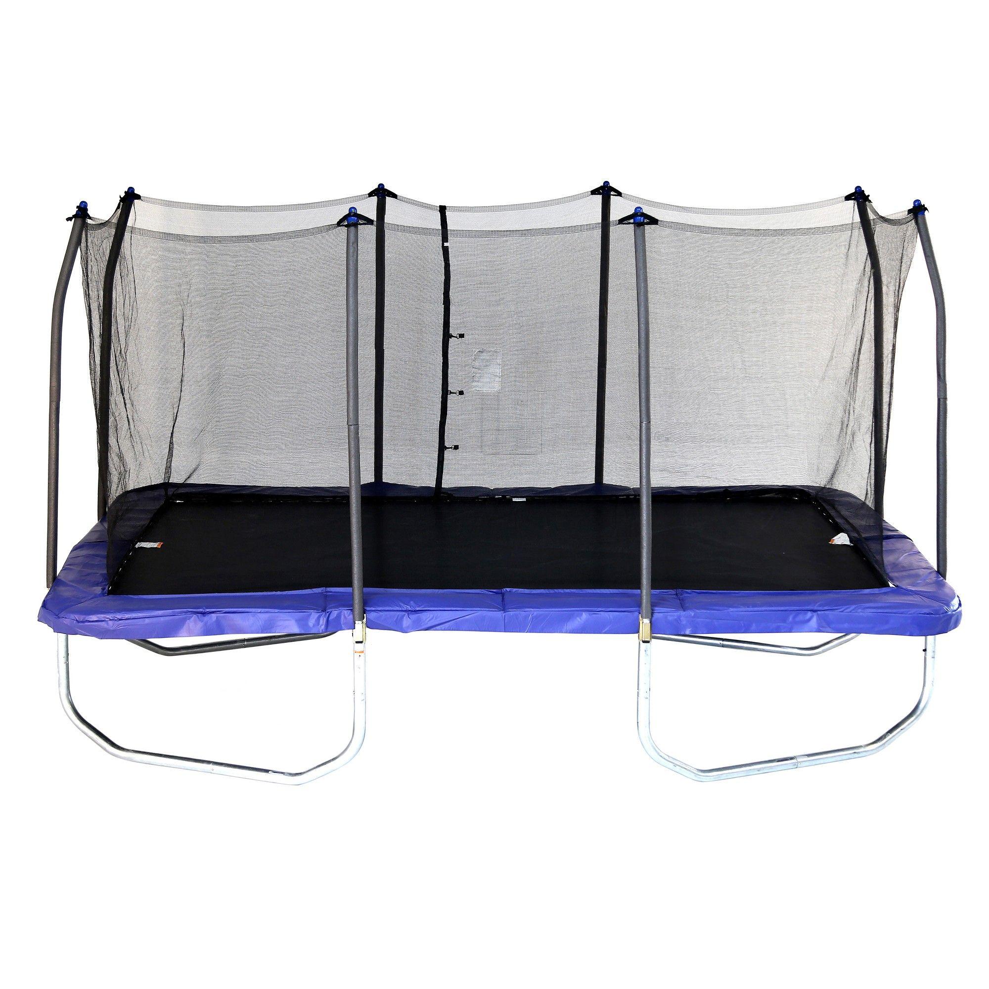 Skywalker Trampolines 15 Foot Rectangle Trampoline And Enclosure
