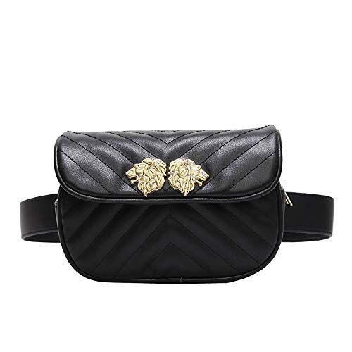 3c431607fff2 XLMLJYX Women Waist Bag Women Waist Belt Waist Bag Ladies Portable ...