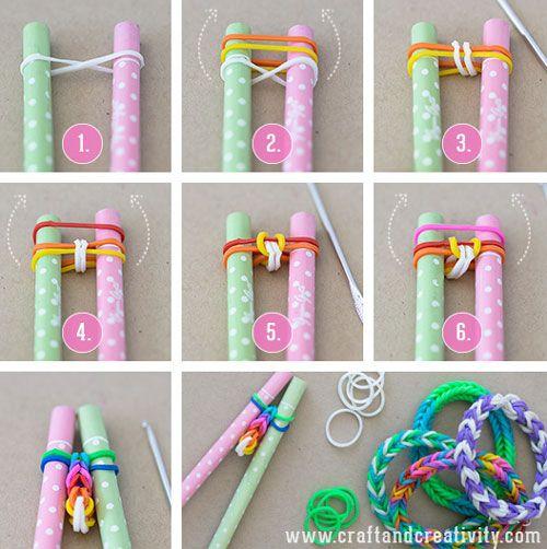 comment faire un bracelet en elastique