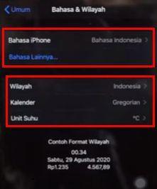tidak bisa update ios dengan data seluler