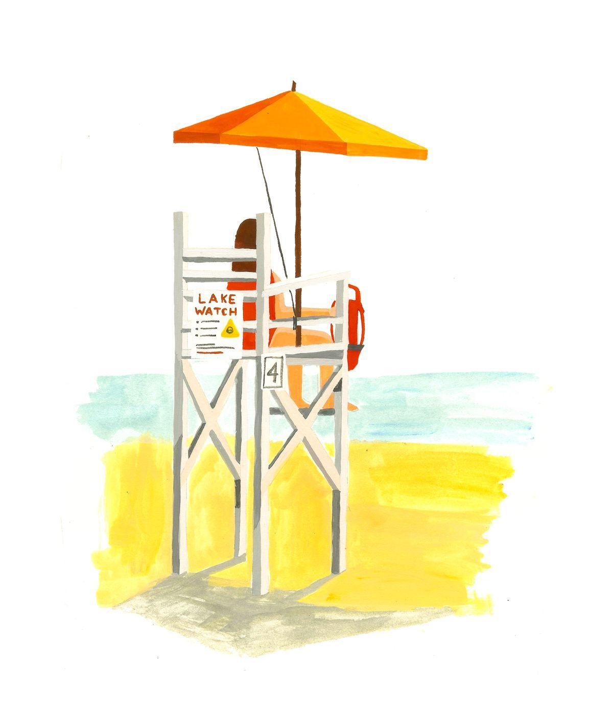 I was a young lifeguard, but I'd already learned how