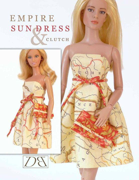 Free Copy of Pattern - Sundress Clutch | Barbie | Pinterest ...