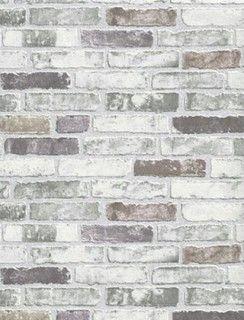 Modern Non-Woven Wallpaper For Accent Wall - Brick Wallpaper - Contemporary - Wallpaper - by Designers Wallpaper | Houzz