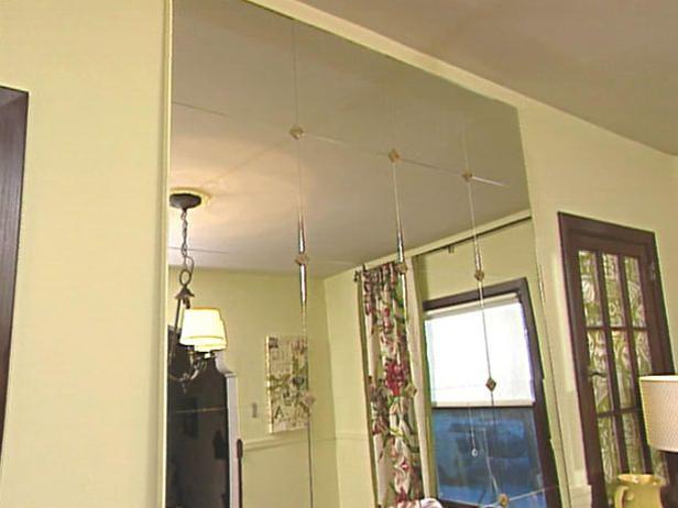 ikea mirror tiles ideas