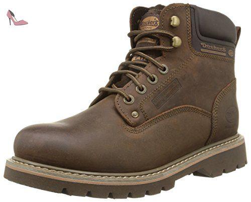 19PA240-300850, Rangers Boots Femme, Beige (Kaki 850), 40 EUDockers by Gerli