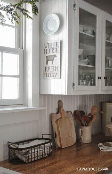 Farmhouse Kitchen Backsplash Beadboard 53+ Trendy Ideas