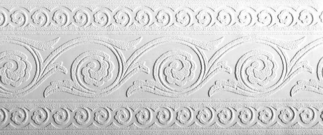 Interior Place Pt1888b Rosettes Paintable Wallpaper Border 24 99 Paintable Wallpaper Paintable Textured Wallpaper Wallpaper Border