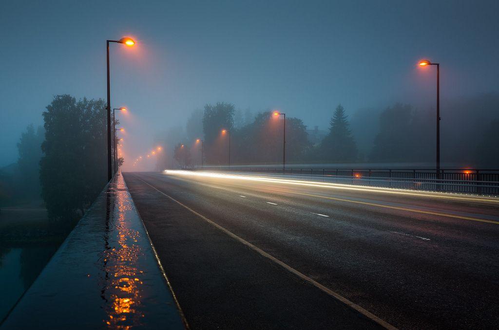 Vision Night Landscape Rainy City Rain Wallpapers Rainy night hd wallpaper download