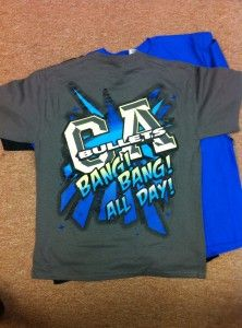 Gray Smoed T-shirt - California All Stars  7717570ec