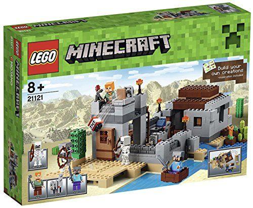 Lego Minecraft The Desert Outpost | Spawn, Lego minecraft and Legos