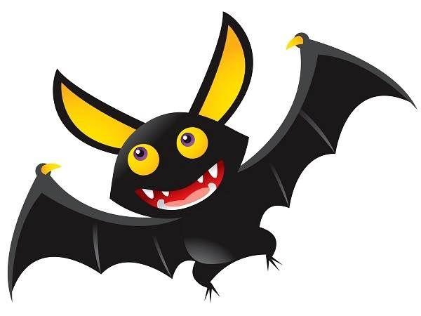 halloween bat clip art free printable images pictures png borders rh pinterest com Bat Outline Clip Art Bat Silhouette