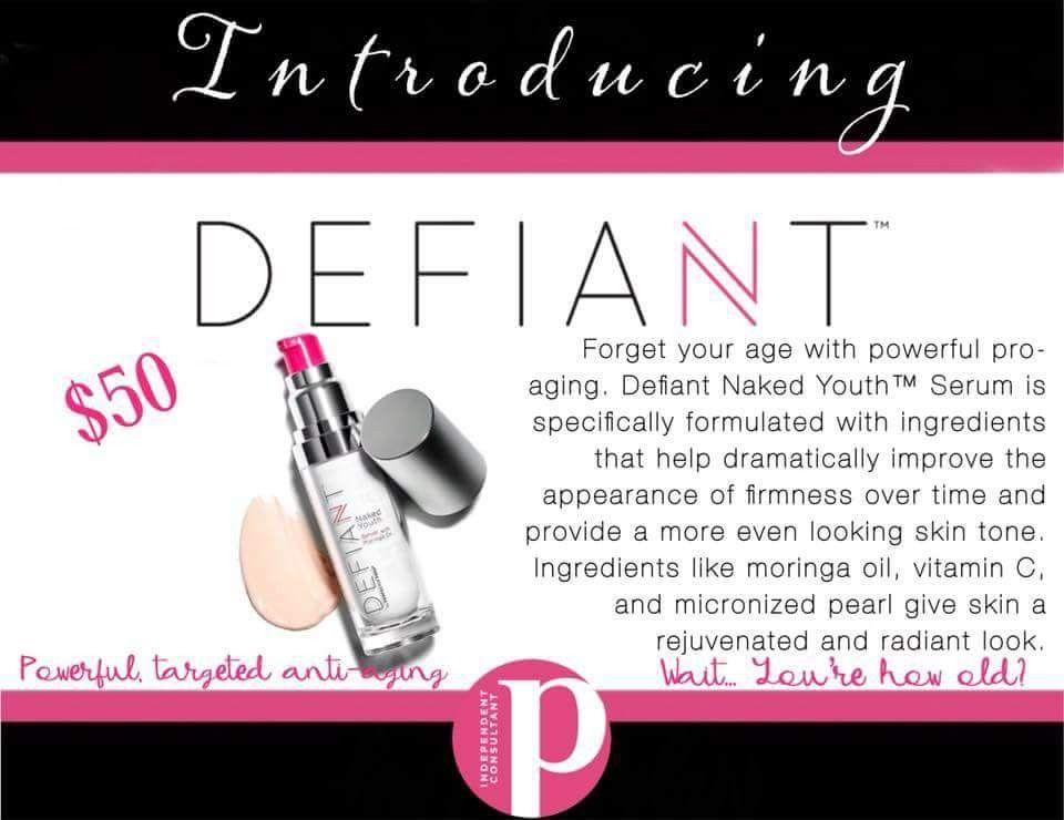Defiant by Perfectly Posh