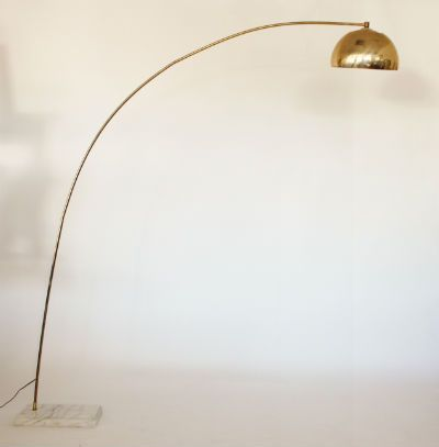 Brass arc lamp
